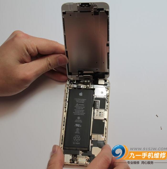 苹果6换电池图文教程