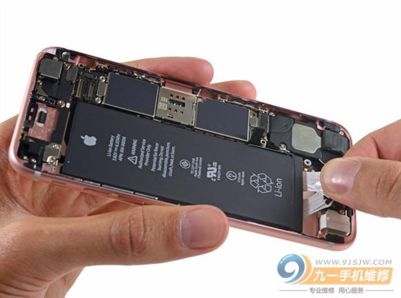苹果6s手机主板元件图解