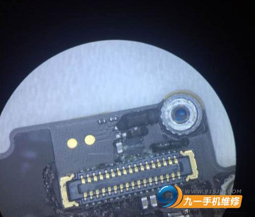 iphone6s摄像头打开黑屏和闪光灯打不开怎么办?维修方法分享