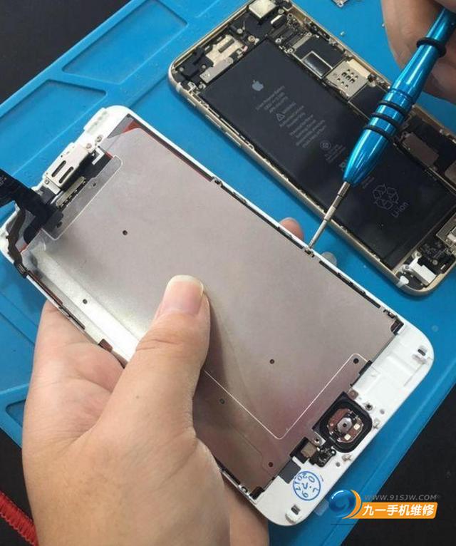 苹果6指纹修复电路图